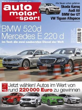 Auto Motor Und Sport 2217 Bmw 520d Mercedes E 220d Read It