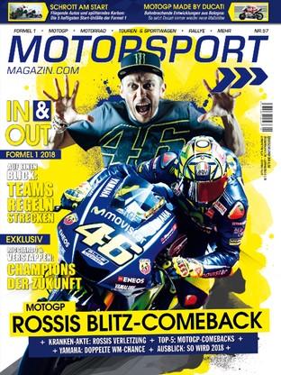 Motorsport Magazin Nr 57 Rossis Blitz Comeback Read It