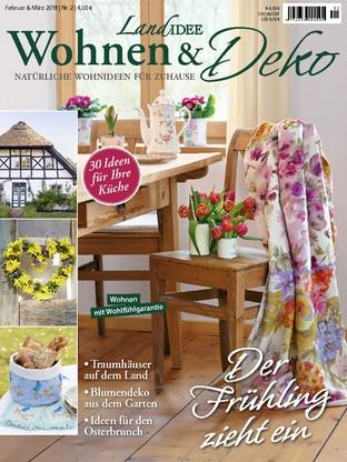 Deko Magazin jetzt kostenlos lesen landidee wohnen und deko 2 18 magazin