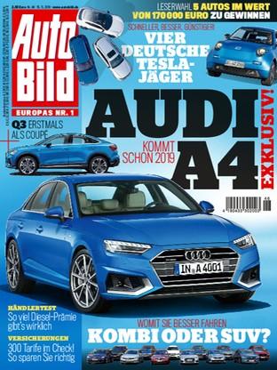 Auto Bild Nov 15 2018 Audi A4 Read It