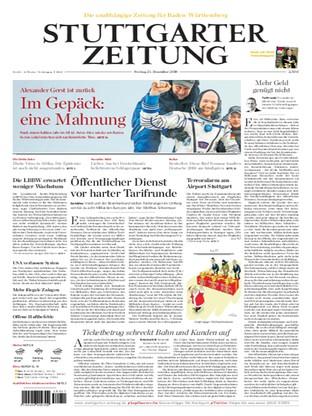 Jetzt Kostenlos Lesen Stuttgarter Zeitung 21122018 Magazin