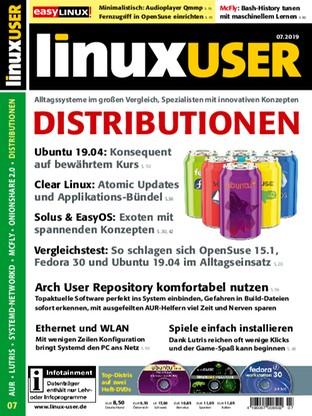 July 2019 - Linux User - read-it