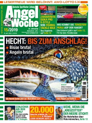 Jetzt kostenlos lesen: 1519 | Magazin Angelwoche | read it