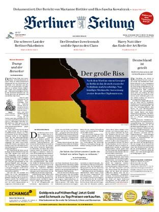 Jetzt kostenlos lesen: Berliner Zeitung 13.12.2019   Magazin